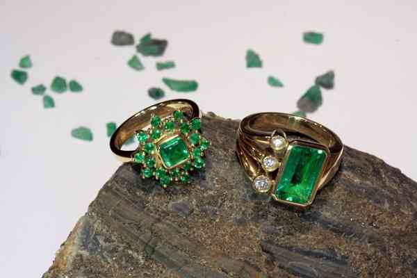 Lucky emeralds jewels