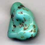 Turquoise crystals and gemstones