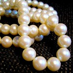 pearl crystals and gemstones