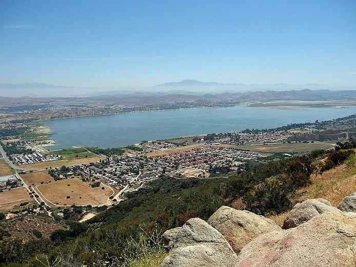 Lake Elsinore View