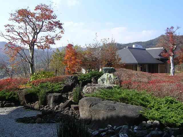 japan in autumn colors